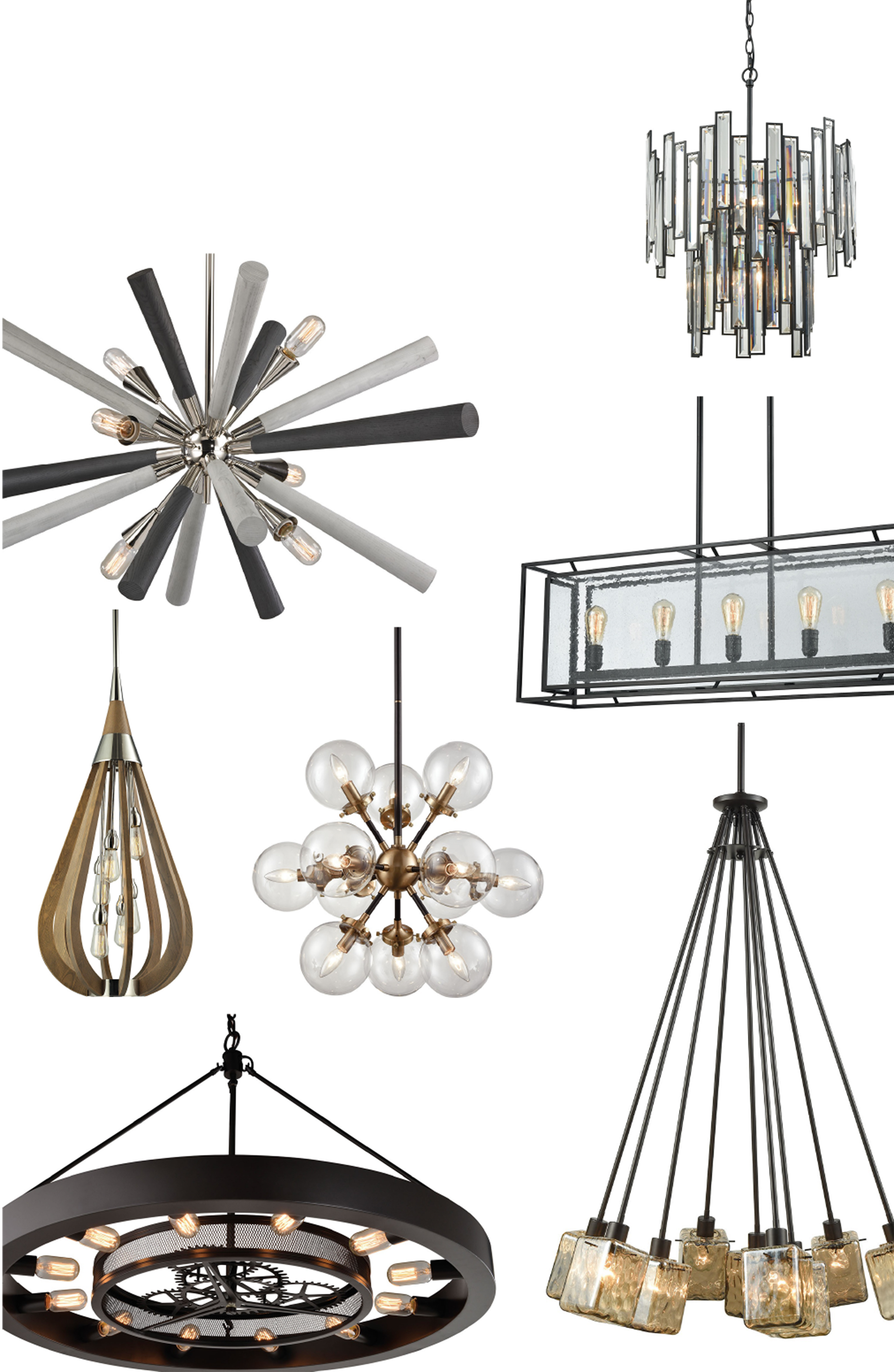 mid century loft lighting west home collection